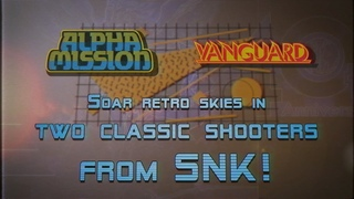 SNK 40th ANNIVERSARY COLLECTION - Alpha Mission & Vanguard (Nintendo Switch)