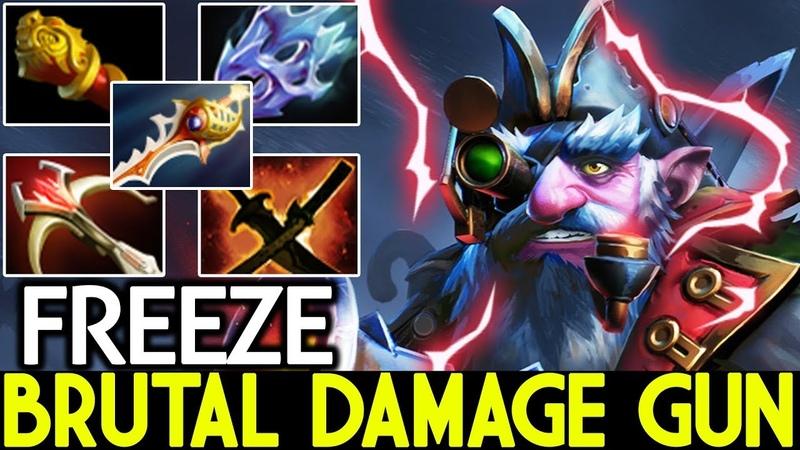 Freeze [Sniper] Brutal Damage Gun Full Physical Build 7.20 Dota 2