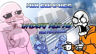 【MIX COMICS UNDERTALE AU】【Санс,ты мне нравишься!Давай встречаться!】【RUS DUB by Ink】