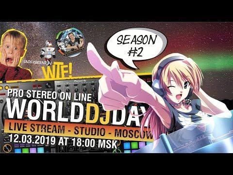 LIVE STREAM THE WORLD DJS DAY - PIONEER DDJ 1000 REKORDBOX msk