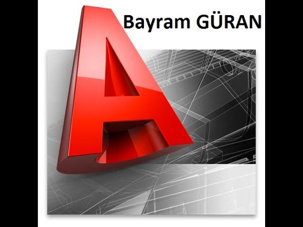 Autocad Eğitimi Ders 1 (Autocad'e Giriş, Autocad Arayüz, Line Komutu) - Bayram GÜRAN