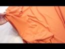 Трикотаж Цвет оранжевый