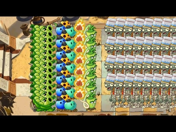 Plants vs Zombies 2 - Sling Pea, Bowling Bulb and Wasabi Whip