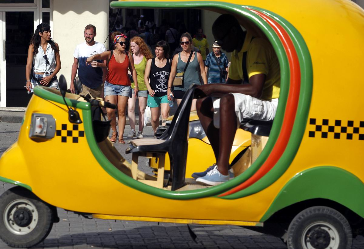 Налетай - подешевело: Кубинское желтое такси