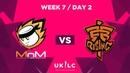 MnM Gaming vs. Fnatic Rising   UK League Championship   Week 7 Day 2   Spring Split 2019