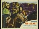 Cuatro Caras del Oeste (1948) - Completa