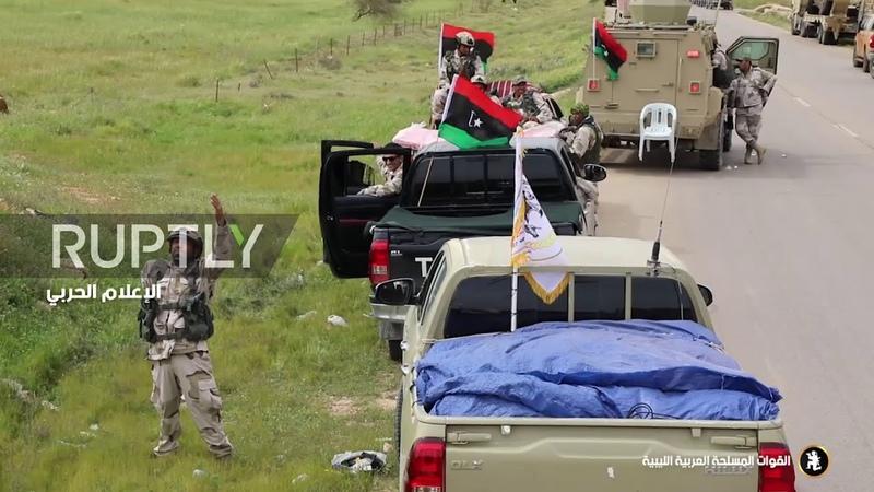 Libya Footage emerges of Haftars LNA allegedly advancing towards Tripoli