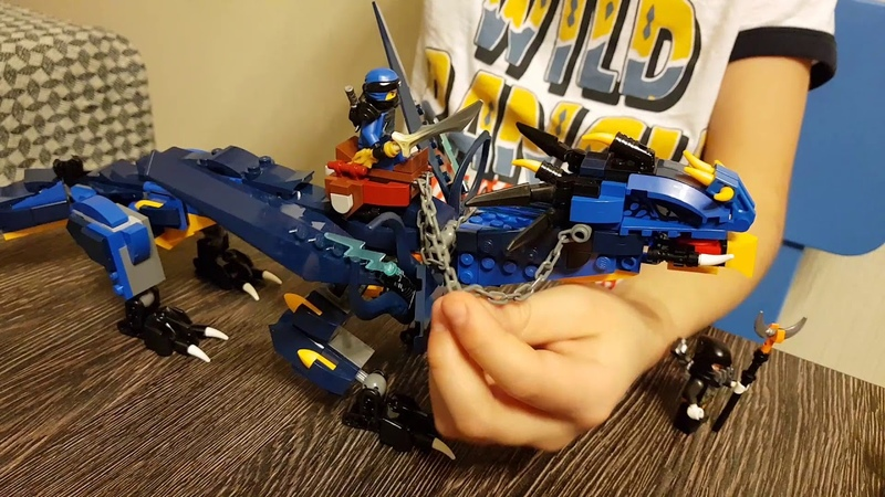 Обзор Лего Ниндзяго Вестник Бури Lego Ninjago 70652
