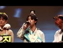 Hyunjin sang georges song titled boat during yesterdays fansign im melting his singing voi.mp4