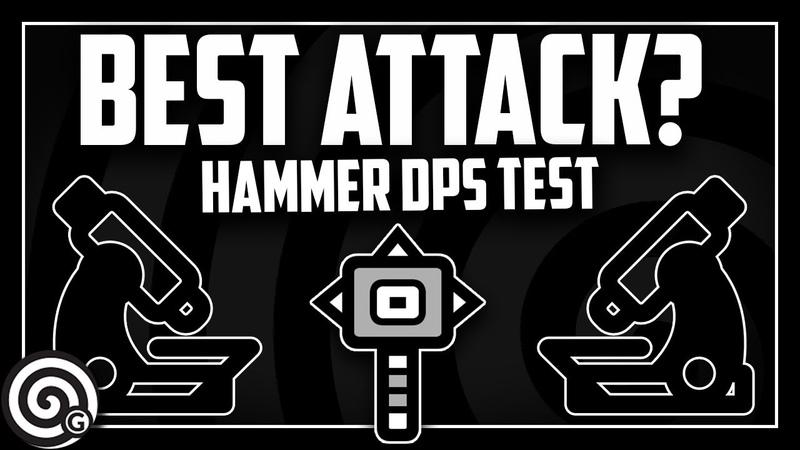 DPS TEST - Best Combo? Hammer Moveset Test | Monster Hunter World