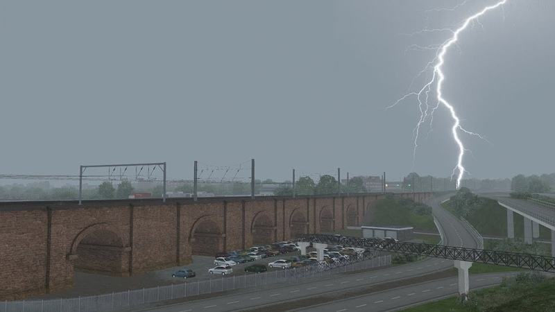 Train Simulator Sky Weather Enhancement Pack Armstrong Powerhouse