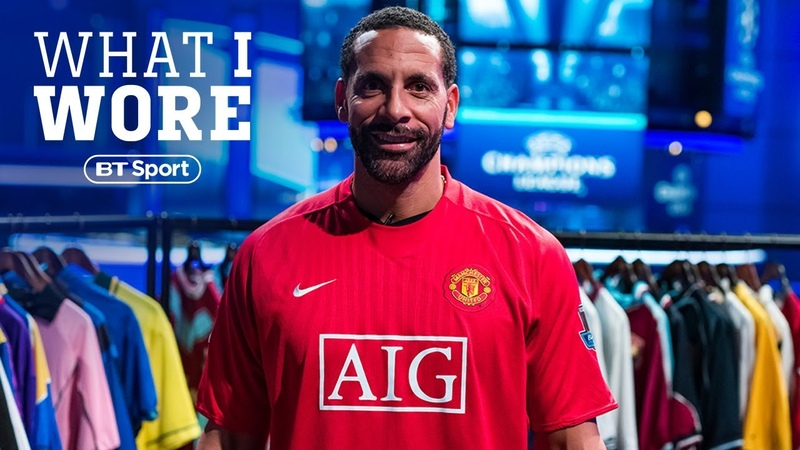 What I Wore Rio Ferdinand