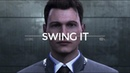 Connor || Swing It {Detroit: Become Human}