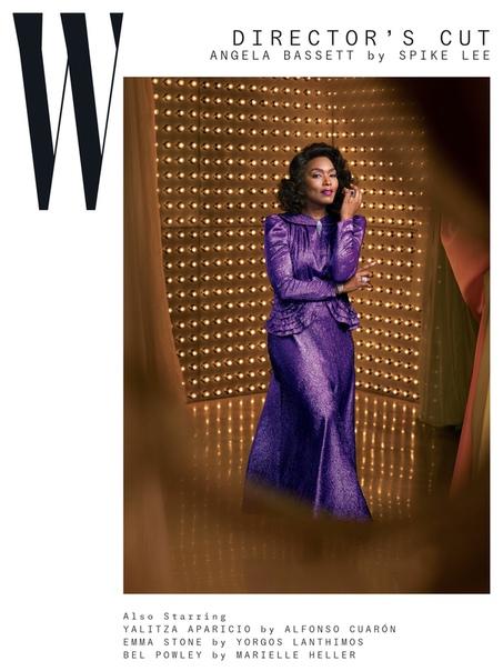 Angela Bassett W Magazine, 2019