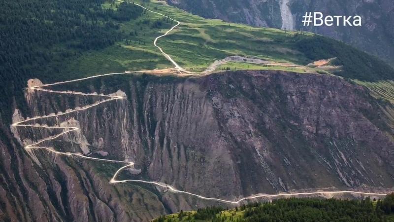 Короткий видео-сюжет с перевала Кату-Ярык (спуск)