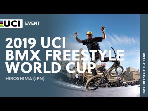 2019 UCI BMX Freestyle World Cup - Hiroshima (JPN) Round 1 - Flatland Final