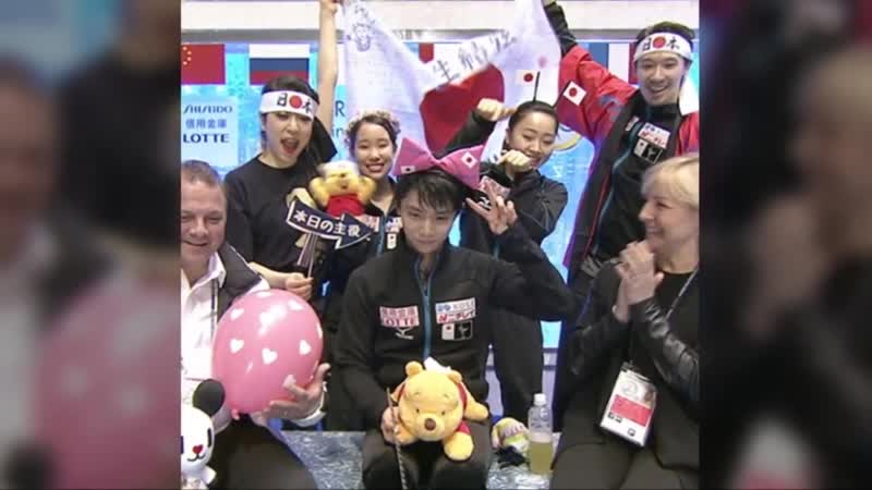 羽生結弦【MAD】YUZU with Pooh yuzuru hanyu with pooh