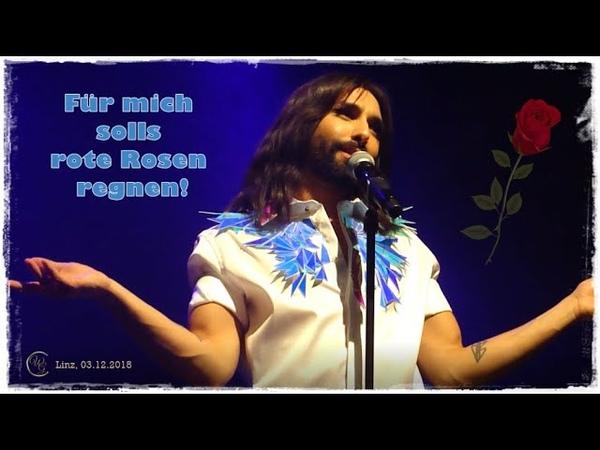 Für mich solls rote Rosen regnen ConchitaSWSG Linz 03 12 2018