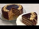 Oddiy masalliqlardan Shokoladli Tort Шоколадный ТОРТ из Масляно Заварного Крема