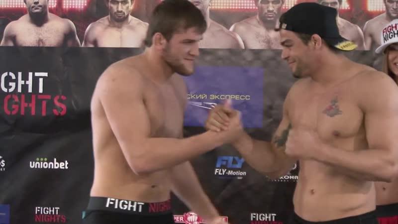 ВЗВЕШИВАНИЕ FIGHT NIGHTS 11 19.04.2013