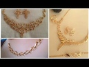 Stylish Gold Necklace Designs Collection Fashionbeauty