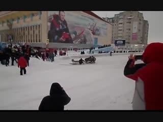 Воркута, день города, оленьи бега и форс-мажор)