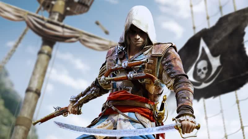Assassins Creed IV Black Flag Live Прохождение 2