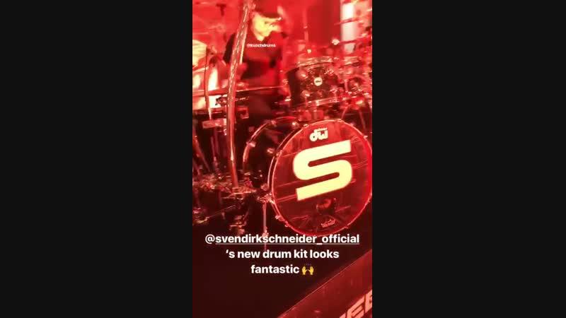 Sven Dirkschneider STEELFACTORY European tour 2019