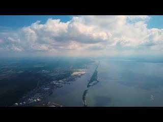 В облаках Калининградской области — полет Икара