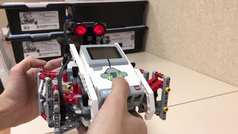 HEXAPOD walking robot on LEGO EV3