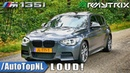 BMW M135i EXHAUST SOUND | ARMYTRIX vs STOCK | TUNNEL REVS ONBOARD by AutoTopNL