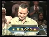 Who Wants To Be A Millionaire (South Africa) (01.10.2000) Louis Rossouw