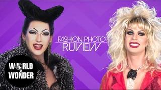 FASHION PHOTO RUVIEW: Sarah Paulson Red Carpet with Violet Chachki & Katya!