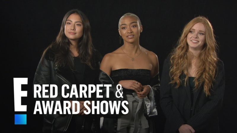 Sabrina Cast Plays Witchcraft Dos Donts Game | E! Red Carpet Award Shows