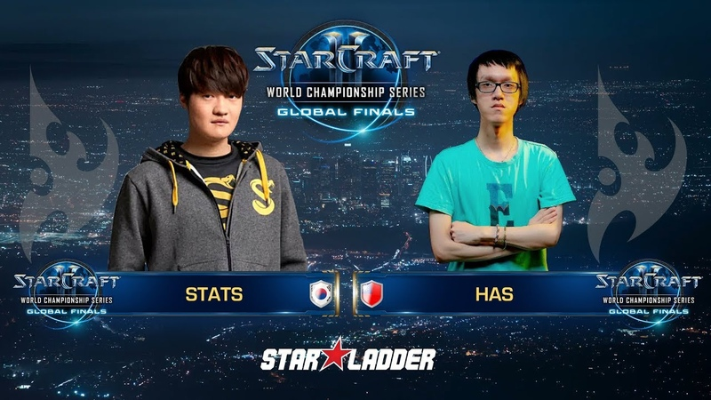 2018 WCS Global Finals Ro16, Group С, Match 1: Stats (P) vs Has (P)