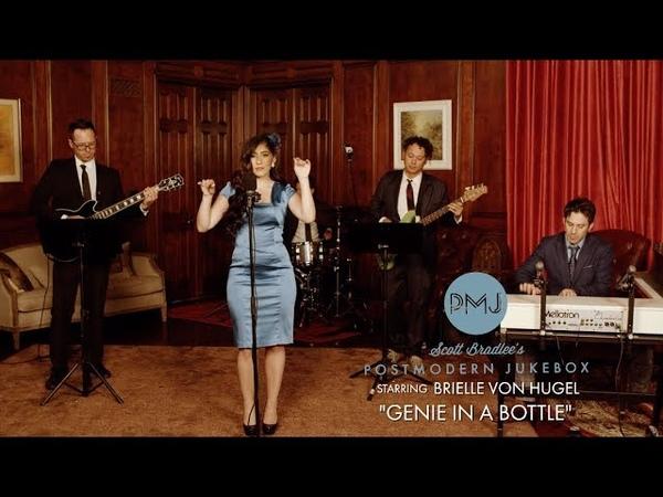 Genie in a Bottle - Christina Aguilera ('60s Style Cover) ft. Brielle Von Hugel
