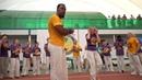 Ponta Marrom troca de cordas em Belgorod 2019 AXE Capoeira