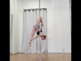 Людмила Букрина. Pole Fitness. Kat's dance studio