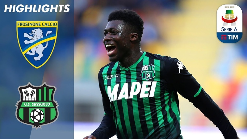 Frosinone 0-2 Sassuolo   Berardi on Target as Clinical Sassuolo Secure Away Victory   Serie A