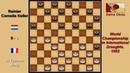 Li Tchoan King (FRA) - Reinier Cornelis Keller (NLD). Draughts World Championship. 1952.