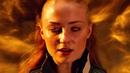 Джин Грей выпускает силу Феникса и разрывает тело Апокалипсиса Люди Икс Апокалипсис 2016