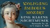 Mozart Eine kleine Nachtmusik В.А. Моцарт Маленькая ночная серенада Serenade No 13,K. 525