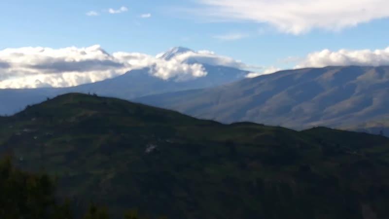 Вид на Чимборасу с тропы на эль Альтар