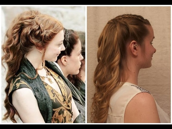 Game of Thrones Inspired Margaery Tyrell's Funeral Ponytail