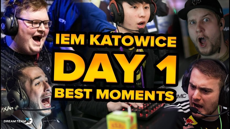 The Most Surprising Day 1 in CSGO Major History | IEM Katowice 2019 Highlights CSGO
