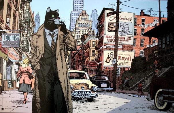 «Блэксэд» Blacsad популярный графический роман, созданный испанскими авторами Хуаном Диасом Каналесом (сценарий) и Хуанхо Гуарнидо (рисунки). Несмотря на то что оба автора испанцы, роман