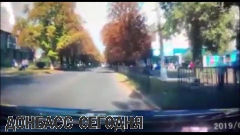 Украинская женщина-полицейский убила прохожую в Волновахе.