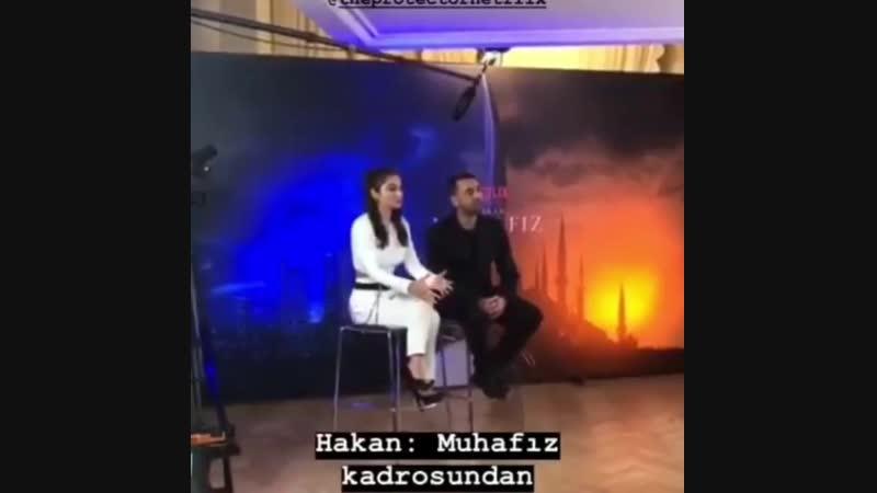 Айча Айшин Туран о своей роли в сериале Защитник