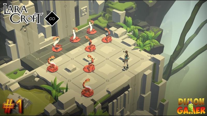 Прохождение игры Lara Croft Go (Android) 1 (Лара Крофт и Древние Секреты)