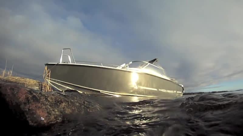 Финский алюминиевый катер XO Boats 220 S Open